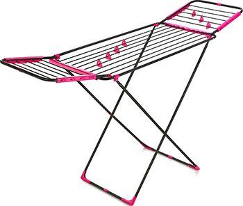 Сушилка для белья Dogrular Perilla »Аврора» 17009 Цвет черный, розовый