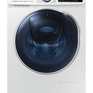 Стиральная машина с сушкой Samsung с AddWash WD6500N, 10/6 кг Цвет белый, синий