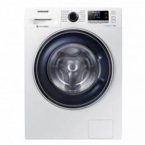 Стиральная машина Samsung WW80R42LXESDLP с EcoBubble, 8 кг Цвет серебристый, кристально серый