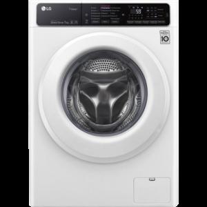 Узкая стиральная машина LG F2H5HS3W с технологией «6 движений заботы» и функцией пара Steam Цвет